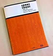 j i case 580 ck 580ck loader backhoe operators owners manual