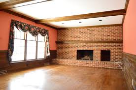 How To Whitewash Interior Brick How To Whitewash A Brick Wall Or Fireplace Young House Love
