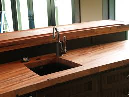 custom solid wood edge grain mesquite counter top with under mount custom solid wood edge grain mesquite counter top with under mount sink butcher block