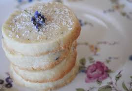 lavender shortbread and a baby shower for two peas and their pod