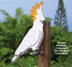 3d animal project patterns 3d cockatoo woodcraft pattern