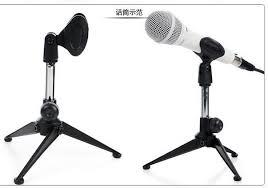 microphone de bureau plateau de support ange microphone de bureau trois trépied support