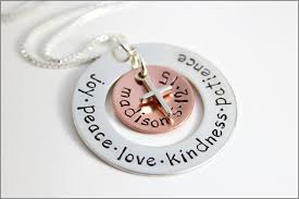 religious gifts personalized confirmation necklace custom name date of