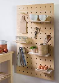 diy idea make your own wooden pegboard storage panel man made