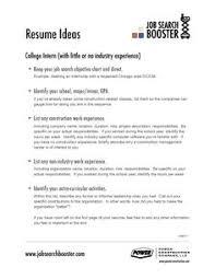 Entry Level Job Resume Objective by Job Resume Objective Berathen Com