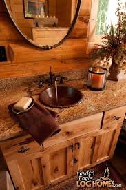 log cabin bathroom ideas best 25 cabin bathrooms ideas on country style brown