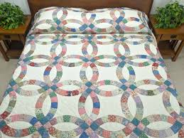 wedding ring quilt for sale wedding ring quilt magnificent meticulously made amish