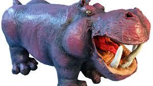 paper mache hippo youtube