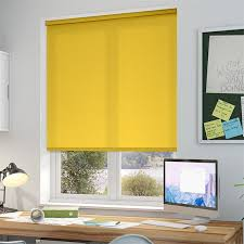 Kitchen Window Blinds And Shades - best 25 yellow roller blinds ideas on pinterest striped roller