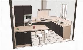 plan de cuisines plans cuisine plan de galerie et charmant ilot central photo avec