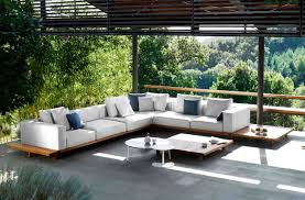 Best Patio Furniture Material - patio decor sharp wooden octagon patio table near the inground