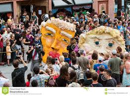 halloween paper mache masks paper mache masks parody trump and clinton in halloween parade