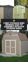 How To Build A Backyard Storage Shed by 5 Best Storage Shed Reviews Easy To Assemble Outdoor Storage Sheds