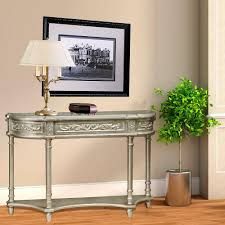 Pulaski Console Table Pulaski Furniture Silver Storage Console Table Ds 766058 The