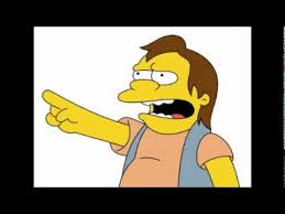Haha Simpsons Meme - best of the simpsons nelson muntz ha ha 51 40minutes youtube