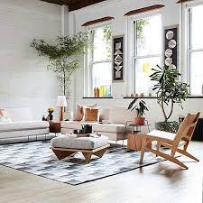 commune low cushion ottoman west elm