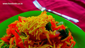 quick u0026 easy sev tomato snack recipe indian gujarati food every