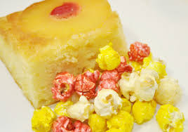 pineapple upside down cake gourmet popcorn tastebuds