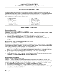 Logistics Resume Examples by Logistics Management Specialist Resume Design Resume Template