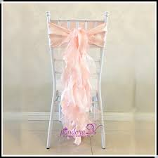 curly willow chair sash fancy blush curly willow chair sash satin organza wedding chair