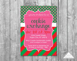 christmas cookie party invitations cookie exchange party invitation christmas cookie party