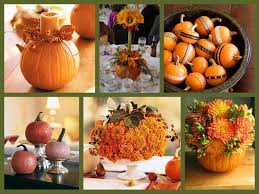 fall wedding floral centerpieces table decor and design 4 photos
