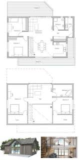 Floor Plan Interior Small Home Design Simple Lines And Spacious Interior Areas Small