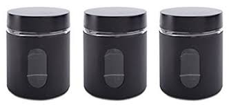 black and white kitchen canisters kitchen canisters black and silver