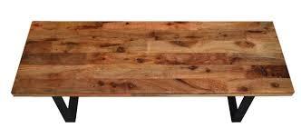 Flat Bar Table Legs Reclaimed Wood Coffee Table Flat Bar Steel Legs