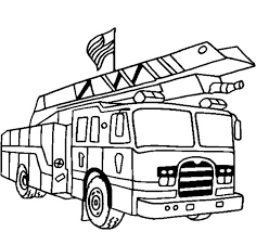american fire truck coloring pages coloringstar