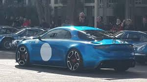 renault alpine concept alpine vision concept and alpine a120 presentation in monaco youtube