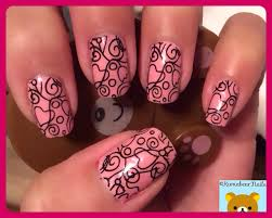 nail stamping cici u0026 sisi plate 05 base color is opi pink