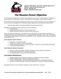 objective statements on resumes good resume objective statements