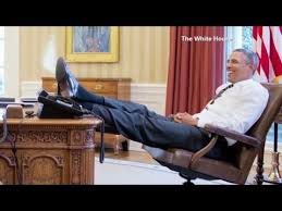 obama at desk president puts foot on desk furor ensues youtube