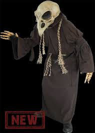mask crow costume