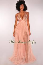 gold maxi dress gold sequins crisscross mesh maxi dress