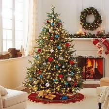 Red White Blue Christmas Decorations by Best Artificial Christmas Trees Decoration Ideas For A Jolly Holiday