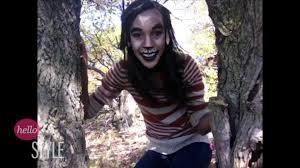 unseen challenge teen wolf halloween makeup tutorial youtube
