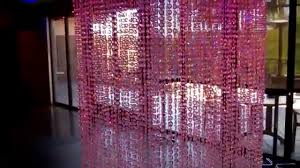 Diamond Beaded Curtain by Crystal Columns Diamond Beaded Crystal Columns Shopwildthings