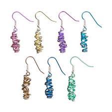 hypoallergenic earrings uk hypoallergenic ti2 titanium chaos drop earrings serenity jewellery