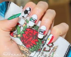 fifa world cup 2014 mexican nails uñas de la bandera de mexico