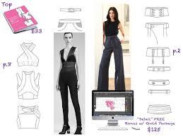 best illustrator fashion templates for men garment ebook