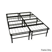 Metal Platform Bed Frame Size Folding Metal Platform Bed Frame Greenhome123 Throughout