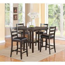 High Dining Room Tables And Chairs High Dining Room Tables