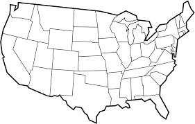 map of us states empty car trip activity book us map enchantedlearningcom 50 us states