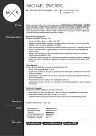 project management resume samples career help center