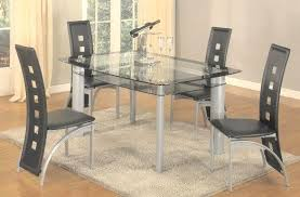 glass dining room table and chairs outstanding black tinted glass dining table pc modern glass top