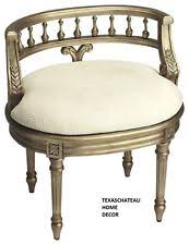 Silver Vanity Chair French Country Vanity Stools Benches Ebay