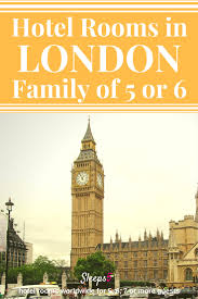 Family Hotels Covent Garden London Hotel Family Rooms For 5 Or 6 People