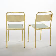 chaise d colier chaise d écolier lot de 2 kimbie studio aoüt friture